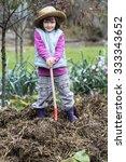 Kid Gardening Concept  ...