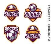 soccer logos  american logo... | Shutterstock .eps vector #333359816
