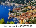 view of luxury bay and resort... | Shutterstock . vector #333370238