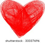 vector hearts | Shutterstock .eps vector #33337696