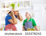 funny cute family moments in... | Shutterstock . vector #333378242