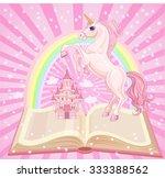fairytale castle. air castle...   Shutterstock .eps vector #333388562