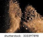 soil explosion | Shutterstock . vector #333397898