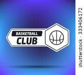 streetball and basketball... | Shutterstock .eps vector #333406172