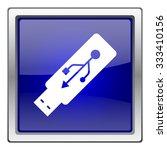 usb flash drive icon. internet... | Shutterstock .eps vector #333410156