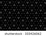 simple patterns in black and... | Shutterstock . vector #333426062