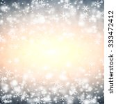 winter abstract background  ... | Shutterstock . vector #333472412