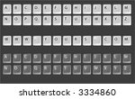 keyboard keys vector  fully...