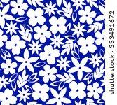flower illustration pattern   Shutterstock .eps vector #333491672