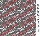 vector seamless pattern... | Shutterstock .eps vector #333499562