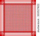 keffiyeh vector seamless... | Shutterstock .eps vector #333527822
