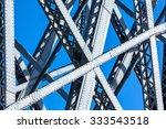 modern bridge frame closeup....   Shutterstock . vector #333543518