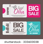 shopping offers and sales... | Shutterstock .eps vector #333603038