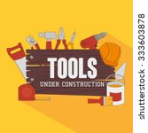 construction and tools graphic... | Shutterstock .eps vector #333603878