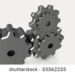 industrial gear   Shutterstock . vector #33362233