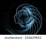 strings of soul gears of mind... | Shutterstock . vector #333629852