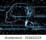 human tangents series.... | Shutterstock . vector #333632225