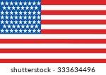 american flag   Shutterstock .eps vector #333634496