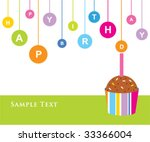 Birthday Cake Greeting
