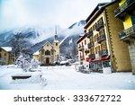 Chamonix  France   January   30 ...