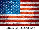 flag of united states or... | Shutterstock . vector #333685616