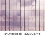 clouds reflected in windows of... | Shutterstock . vector #333705746