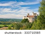beynac castle with vegetation... | Shutterstock . vector #333710585