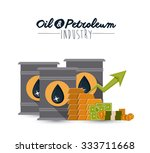 oil and petroleum concept with... | Shutterstock .eps vector #333711668