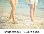 beach. | Shutterstock . vector #333755156