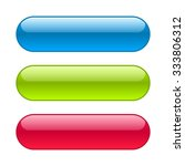 blue  red and green web buttons.... | Shutterstock .eps vector #333806312