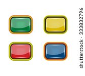 button color set. buttons icons.... | Shutterstock .eps vector #333832796