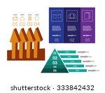 infographics set vector... | Shutterstock .eps vector #333842432