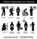 diabetes mellitus diabetic high ...   Shutterstock .eps vector #333869096