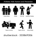 diabetes mellitus diabetic high ... | Shutterstock .eps vector #333869306