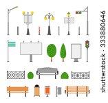 vector city street urban... | Shutterstock .eps vector #333880646