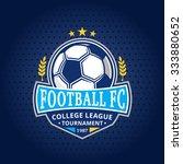 soccer football club logo... | Shutterstock .eps vector #333880652