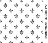 Seamless Pattern With Fleur De...