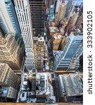 new york city manhattan aerial... | Shutterstock . vector #333902105