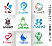 collection of vector logo design   Shutterstock .eps vector #333905582