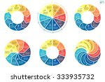infographics step by step with... | Shutterstock .eps vector #333935732