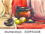 Painting. Still Life With Jug ...