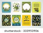 big set of brazil  carnival... | Shutterstock .eps vector #333953906