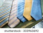 selection of handmade ties  or... | Shutterstock . vector #333963692