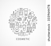 cosmetics illustration with... | Shutterstock .eps vector #333964478