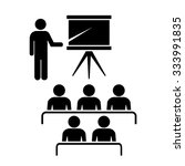 study vector icon isolated on... | Shutterstock .eps vector #333991835
