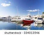 famous marina of puerto banus...