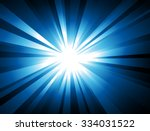 ray lights explosion background ... | Shutterstock .eps vector #334031522