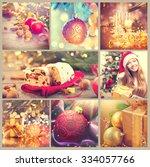 Christmas Collage. Beautiful...