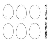 Various Egg Shapes   Outline....