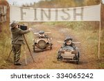 photographing end of the... | Shutterstock . vector #334065242
